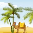 Vector de stock : Camel