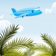 Royalty-Free Stock Vector Image: Airplane