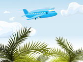Airplane — Vector de stock