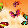 Vector butterfly - Stockvectorbeeld