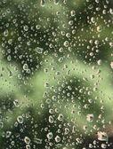 Gotas de lluvia — Foto de Stock