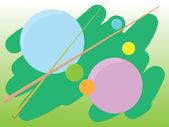 абстрактный шарики — Cтоковый вектор