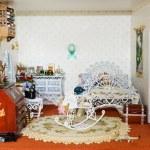 Vintage doll house — Stock Photo #2993590