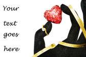 ¡casémonos! -anillo de diamante — Foto de Stock