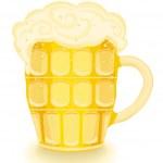 Постер, плакат: Cold beer mug
