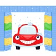 Automated car wash — Stockvektor #3417833