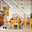 Dolls House - Dining room — Stock Photo #3548843