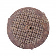 Manhole Cover — Foto de Stock