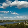 View On The Volga. - Foto de Stock
