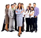 Visionary young business group — Stock Photo