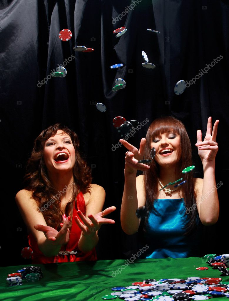 Young have a good time in casino — Stock Photo #2806621