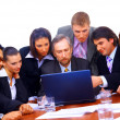 Businessteam in offece — Stock Photo
