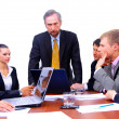 Businessteam in offece — Stock Photo #3159151