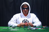 Cool poker player — Stock Photo