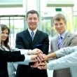 Handshake and teamwork — Stock Photo #3233431