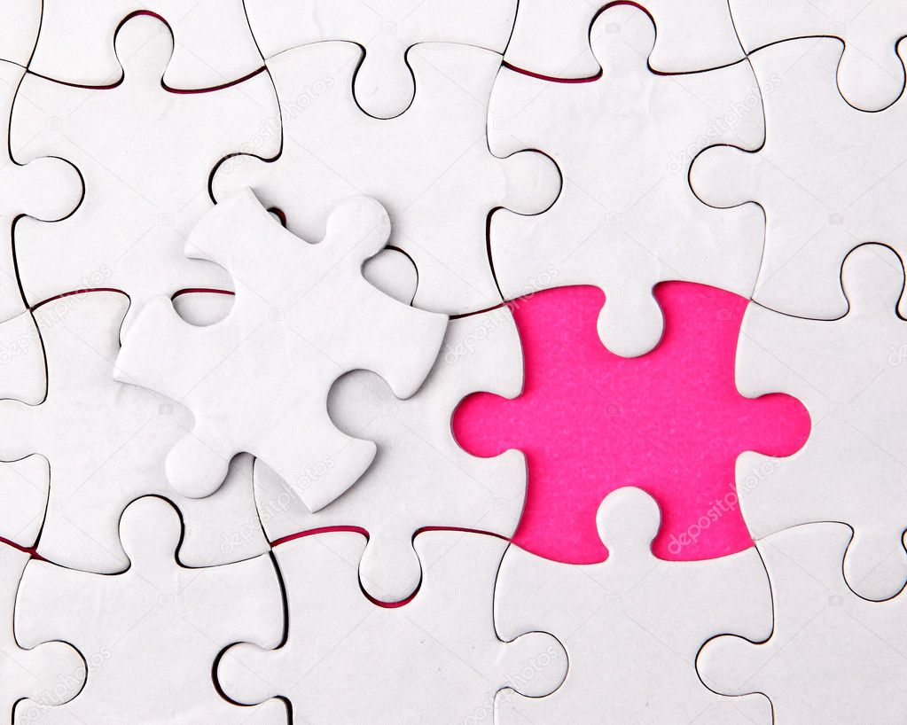 Abstract puzzle background — Stock Photo © depositedhar ...