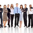 Young attractive business - the elite business team — Stock Photo #4179328
