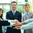 Handshake and teamwork — Stock Photo #4222109