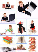 The child to study — Stock Photo