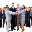 Handshake and teamwork — Stock Photo #4233292