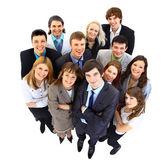 Grote groep van het bedrijfsleven. op witte achtergrond — Stockfoto
