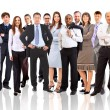 Young attractive business - the elite business team — Stock Photo #4262607