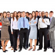 Stok fotoğraf: Young attractive business - elite business team