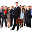 Stock Photo: Businessmand team
