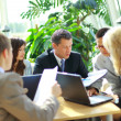 Business team having a meeting — Stockfoto #4305189