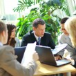 Business team having meeting — Stock Photo #4305189
