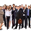 Young attractive business - the elite business team — Stock Photo #4461645