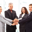 Handshake and teamwork — Stock Photo #4528412
