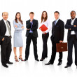 Young attractive business - elite business team — Stock Photo #4528741