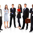 Young attractive business - the elite business team — Stock Photo #4589956