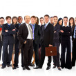 Young attractive business - the elite business team — Stock Photo #4660682