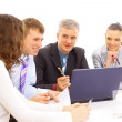 Business team in office — Stock Photo #4673153