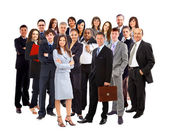 Junge attraktive business - elite business-team — Stockfoto