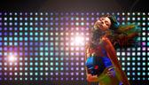 Krásná tanečnice — Stock fotografie