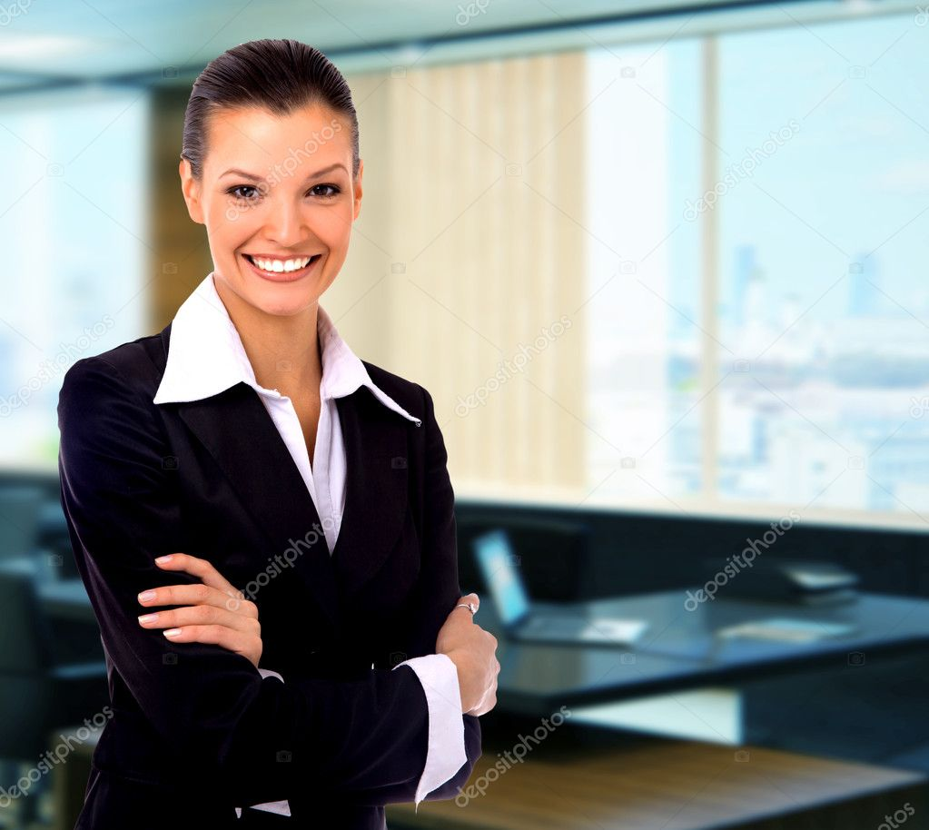 Business woman — Sto...