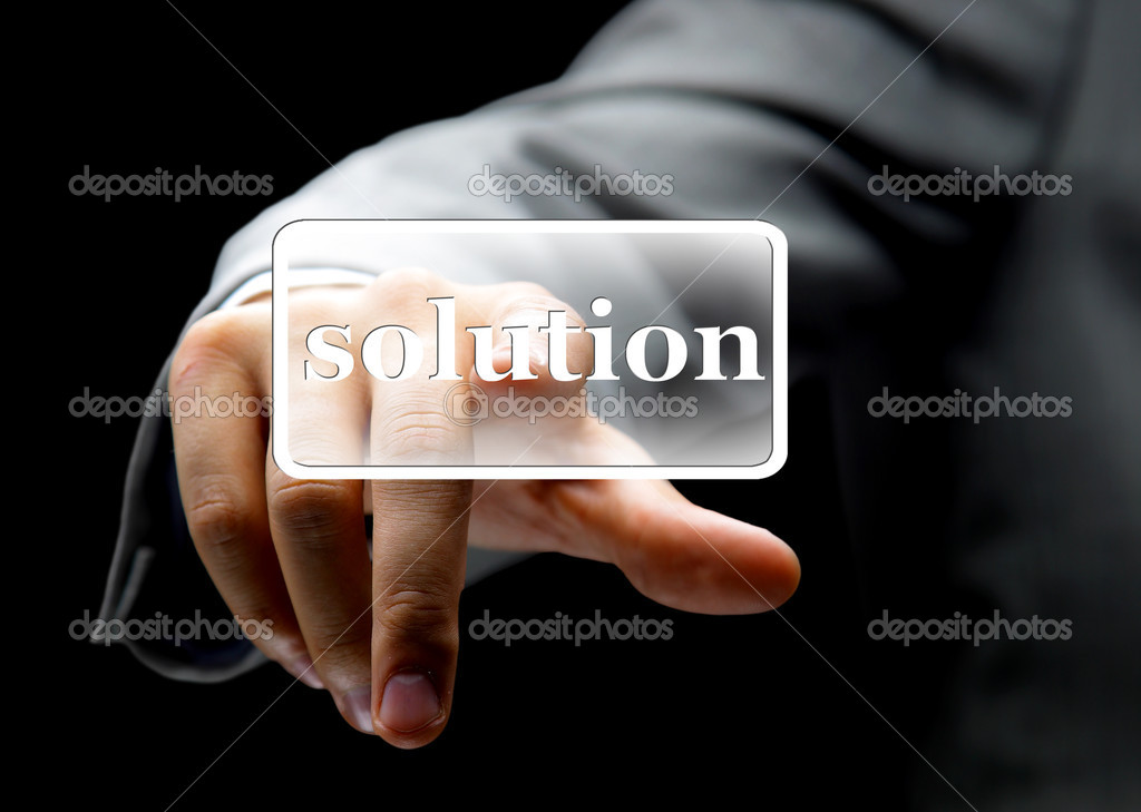 Hand solution — Stock Photo #4875691