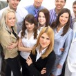 Visionary young business group - Mature business man with his colleagues in — Foto de Stock