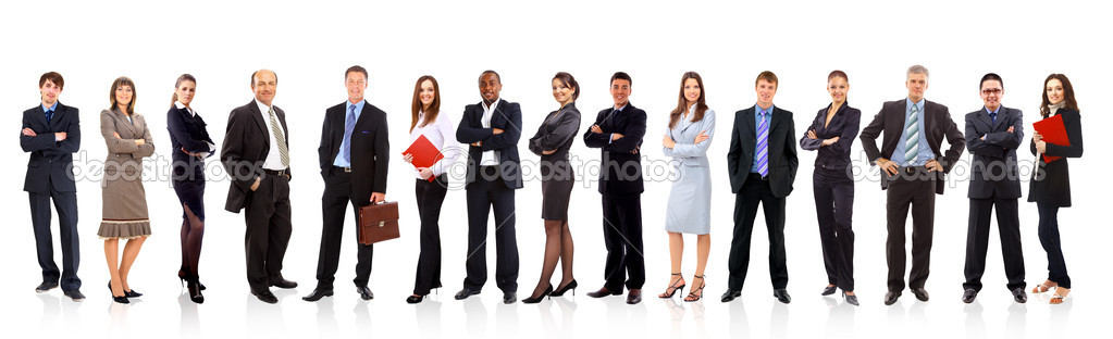 Group of business — Stock Photo #5052198