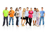 Group of students — Stockfoto