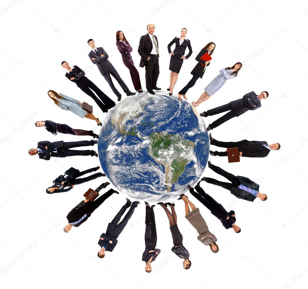Global communication concept  — Stock Photo #5062823