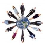 Global communication concept — Stock Photo