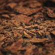Grated Aerated Chocolate — Stockfoto