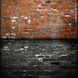 Grungy Brick Room — Foto Stock #2760408