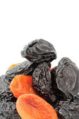 Prunes and Dried Apricots — Stock Photo