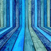 Blue Wood Background — Stock Photo