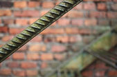 Metal Rod Background — Stock Photo